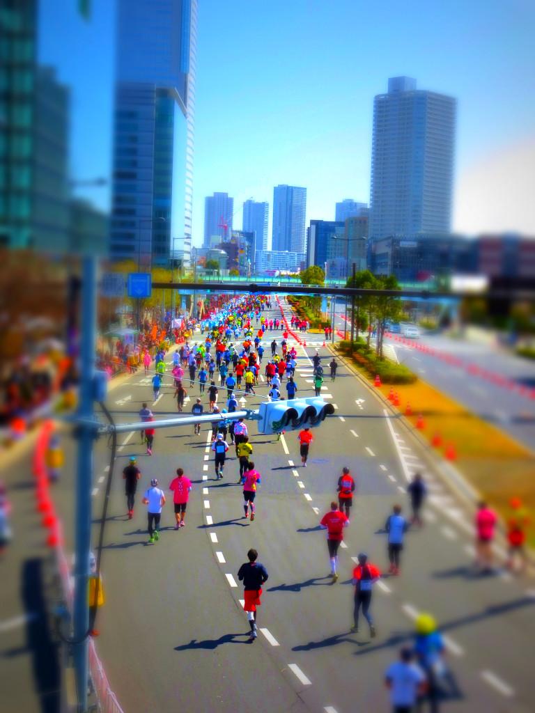 トイ写真「東京マラソン」
